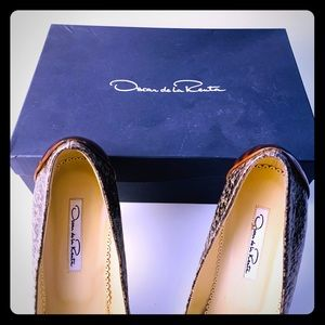 Authentic Oscar De La Renta Heels